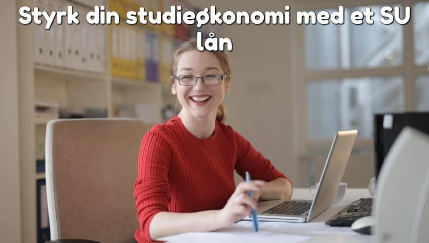 Styrk din studieøkonomi med et SU lån
